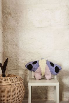 The small, patchwork design is made from soft organic cotton, quilted for comfort and detailed with decorative stitching and dots. Ferm Living Kids, Motif Simple, Patchwork Designs, Cushions, Pillows, Kids Decor, Home Decor, Kids Bedroom, Little Ones