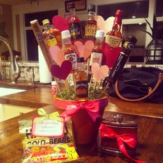 Man bouquet! Perfect valentines day gift for him!