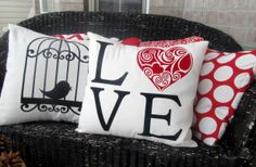 Valentine Pillow Covers - 9 Styles Available! 38% off at Groopdealz