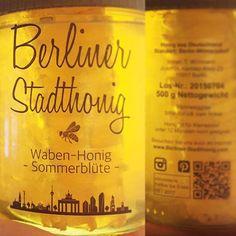 berlinerstadthonig | 2015  Wabenhonig / Honeycomb, clear label