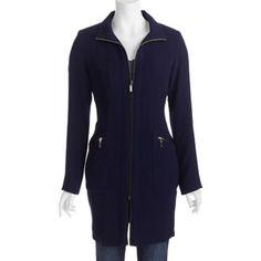 Details Women's Zipper Front Raincoat