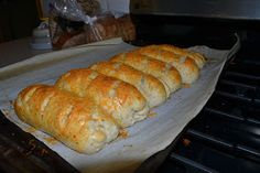 Homemade subway Italian herb and cheese bread.