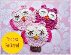 Ten *More* Free Crochet Owl Patterns Owl Crochet Patterns, Crochet Birds, Owl Patterns, Crochet Motif, Crochet Crafts, Yarn Crafts, Crochet Flowers, Crochet Stitches, Crochet Projects