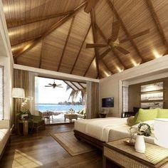 Beach, Villa, Bedroom