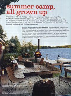 Domino Magazine - Copake Cottage