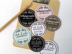 Etiketten zum Ausdrucken auf Klebefolie