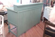 Store Counter Custom Made Shabby Chic Distressed Commercial Buffet Antique…
