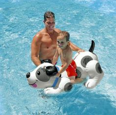 Summer Giant 60 inch Inflatable Ride-On Pool Toy Float