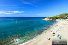 Trypiti Beach, Thassos Island Greece - www.thassos-view.com