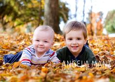 Can't wait to have family photos taken in the fall leaves! What a beautiful landscape.