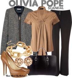 I LOVE Olivia Pope's style in Scandal....I think it's best to say that I'm obsessed with the look!