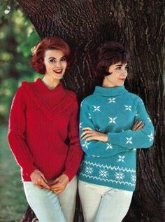 Columbia-Minerva 1960's - knit pattern book