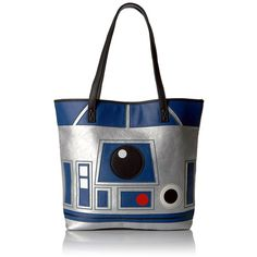 Loungefly Star Wars Reverse R2d2 and C3po Tote ($68) ❤ liked on Polyvore featuring bags, handbags, tote bags, white tote purse, tote purses, reversible tote handbag, handbags totes and handbags tote bags