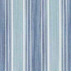 Duralee Fabrics John Robshaw II Exclusive Prints and Wovens Atar Stripe Fabric Color: Cayenne Turquoise Fabric, Blue Fabric, Cotton Fabric, Fabric Decor, Fabric Design, Rh Rugs, Chambray Fabric, Gorgeous Fabrics, Striped Fabrics