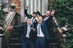 Multicultural Wedding in Brussels Abbey
