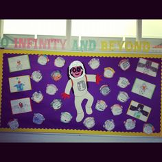 space theme classroom ideas   Infinity and Beyond Display, classroom display, class display, Space ...