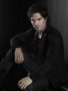 Damon - New Vampire Diaries promo pics