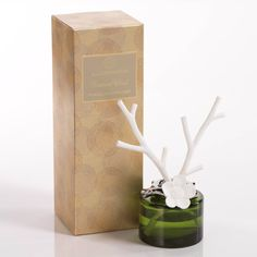 Illuminaria Twigs and Flower Porcelain Diffuser