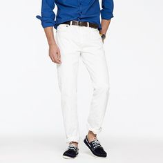 Not sure if I can rock white denim but I'm gonna try!