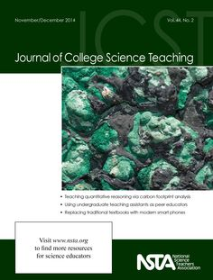 "The November/December issue of the Journal of College Science Teaching is now online! Be sure to check out this issue's free article, ""Teaching Quantitative Reasoning for Nonscience Majors Through Carbon Footprint Analysis.""  http://www.nsta.org/publications/browse_journals.aspx?action=issue&id=98068"