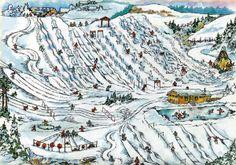 Ski-play options. Asbjørn Flemmen - Volda - Norway.