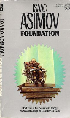 Publication: Foundation Authors: Isaac Asimov Year: ISBN: Publisher: Del Rey / Ballantine Cover: Darrell K. Asimov Foundation, Foundation Book, Best Book Covers, Fantasy Series, Fantasy Art, Isaac Asimov, Science Fiction Books, Sci Fi Books, Best Series