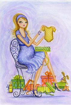 Bella Pilar, illustratpr/Baby shower