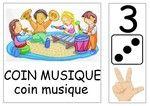 Les affichettes pour les coins et ateliers Daily Schedule Preschool, High Scope, Play Centre, Coins, Kindergarten, Crafts For Kids, Clip Art, Kids Rugs, Activities