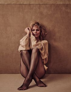 Eva Herzigova in Vogue Polska #2 April 2018 by Chris Colls