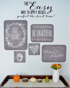 How to Apply Wall Decals with Royal Designs Studio - 3 easy steps and perfect every time!