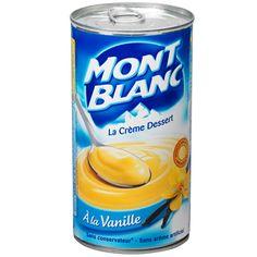 Crème Dessert Mont Blanc