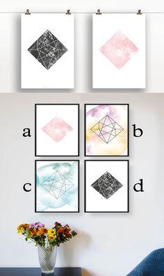 Diamantenplakat - Damit auch deine Wände wie Diamanten erleuchten ;)