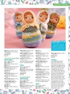 Mesmerizing Crochet an Amigurumi Rabbit Ideas. Lovely Crochet an Amigurumi Rabbit Ideas. Baby Knitting Patterns, Knitted Doll Patterns, Knitting For Charity, Easy Knitting, Loom Knitting, Knitted Dolls Free, Crochet Dolls, Knitted Animals, Little Doll