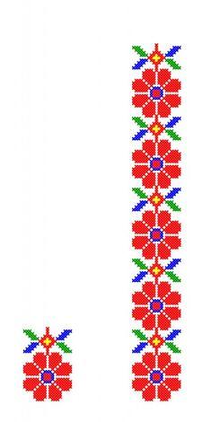 Cross Stitch Bookmarks, Cross Stitch Borders, Cross Stitch Flowers, Cross Stitch Patterns, Flower Embroidery Designs, Embroidery Stitches, Hand Embroidery, Cross Stitch Needles, Pattern Design