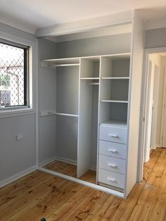 Wardrobe Interior Design, Bedroom Closet Design, Closet Designs, Home Room Design, Bedroom Built In Wardrobe, Bedroom Wardrobe, Diy Wardrobe, Wardrobe Storage, Closet Renovation