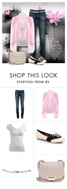 """""""Pink for fall"""" by sheryl-lee ❤ liked on Polyvore featuring WALL, RoÃ¿ Roger's, PHILO-SOFIE, Wet Seal and ZAC Zac Posen"""