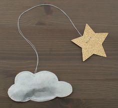 Sachet de thé nuage & son cordon étoile
