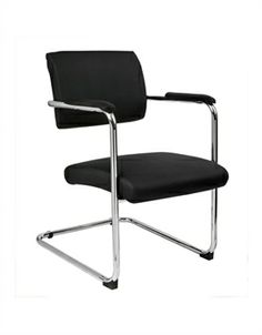 Addition Chrome Visitors Chair