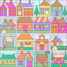 Home Sweet Home | Quilt Block Patterns | MyEQBoutique.com