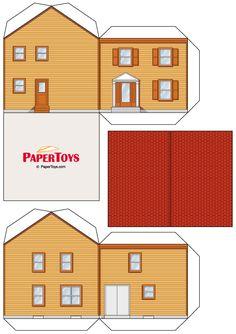 Caixas em formato de Casinha para Imprimir - CALLY'S DESIGN-Kits Personalizados Gratuitos