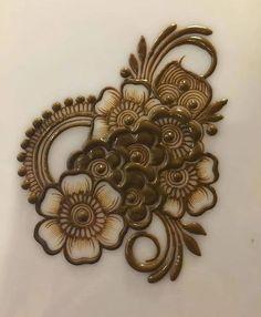 Henna Hand Designs, Mehndi Designs Finger, Round Mehndi Design, Rose Mehndi Designs, Henna Tattoo Designs Simple, Full Hand Mehndi Designs, Mehndi Designs For Girls, Mehndi Designs For Beginners, Mehndi Designs For Fingers