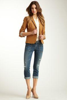 Taylor Slouchy Skinny Leg Cargo Jean