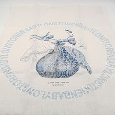 Delft design reimagined in the shape of a fig. Delft, Tea Towels, Fig, South Africa, Layout, Shape, Illustration, Pattern, Blue