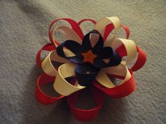 Red White & Blue Clip