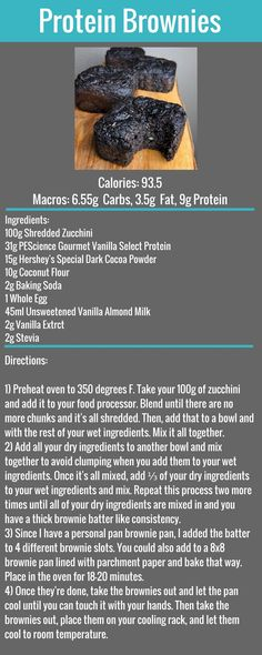 Protein Brownies Free Recipe #FlexibleDietingLifestyle #IfItFitsYourLifestyle