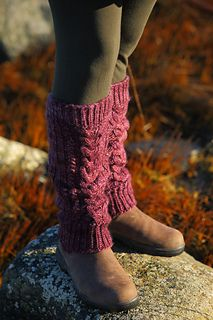 "When the West Coast of Canada enters Scorpio, it gets cold fast. The damp chill air of the island makes one glad to have a fire stove, tea and warm cozy leg warmers on hand to add extra warmth and layers. Scorpio leg warmers were inspired by a desire to have a thick, and soft leg warmer that I could wear in the darker months of the year both around the house and while wandering the Winter ocean shore. It's a sister design to my ""Earth Mama Leg Warmers"" pattern, offering a bit more weight…"