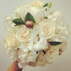 Peonies and roses wedding bouquet   Bouquet Melbourne