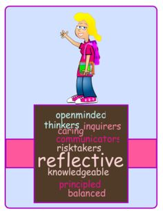 FREE -  Enjoy with compliments, from Help Me Learn. This product uses the exact descriptions of the learner profiles as provided by IBO and has been compiled into an easy to prepare matching activity for students at the start of the year or teachers at IBO workshops. Copy and cut the cards up for a Mix & Match activity. I have also adapted them into a poster for your classroom, to show students how to apply these profiles to their daily lives.