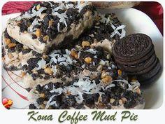 Favorite Kona coffee mud pie recipe. Get more local style desserts here.
