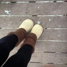Patrón de ganchillo Audrey botas tamaño adulto por Mamachee